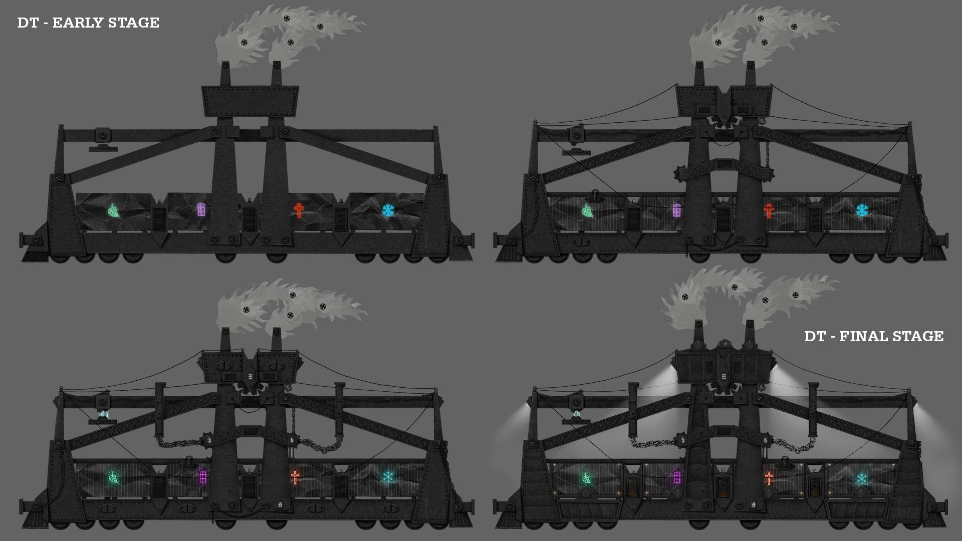 Progress of Dark Train