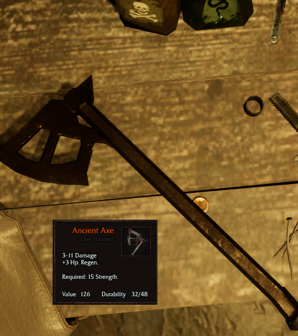 Dwarven Ancient Axe