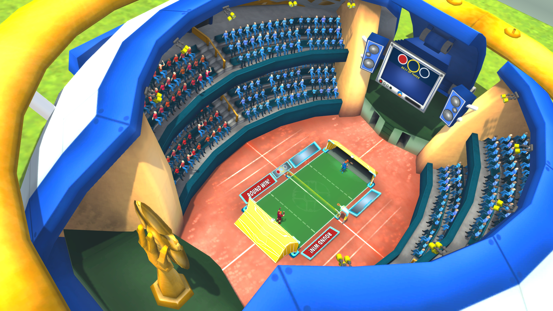 The Gyrodisc Stadium