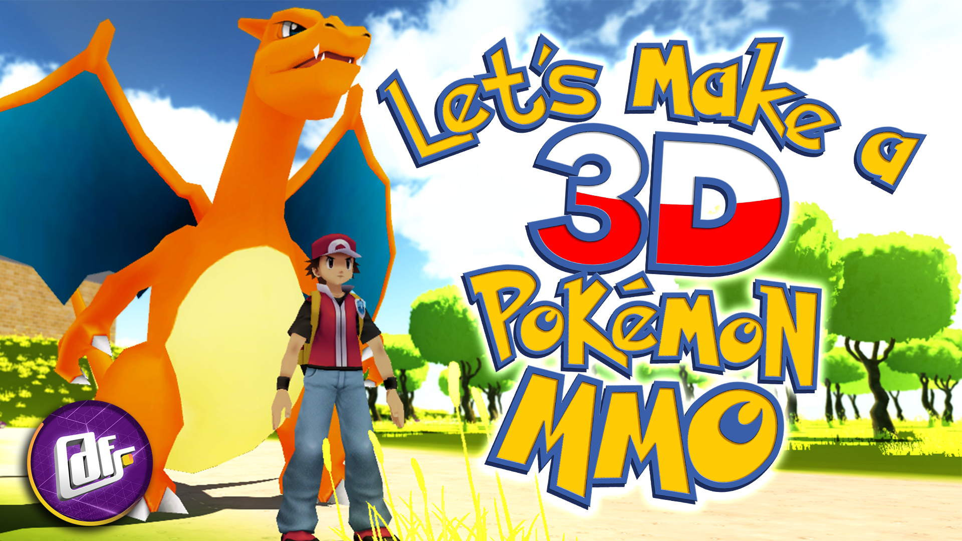 Lets make 3d MMO Thumbnail