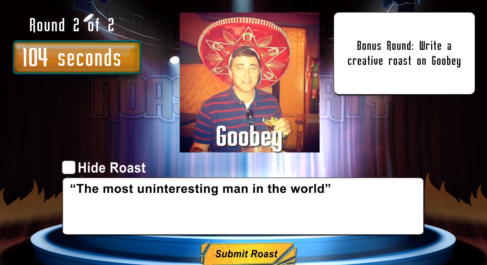 goobey roast
