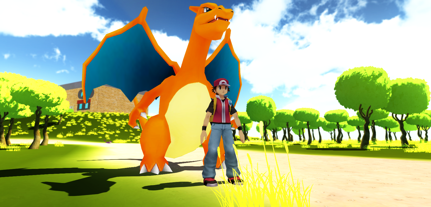 Pokemon adventures online fraccasgames windows mod db for Rendering online