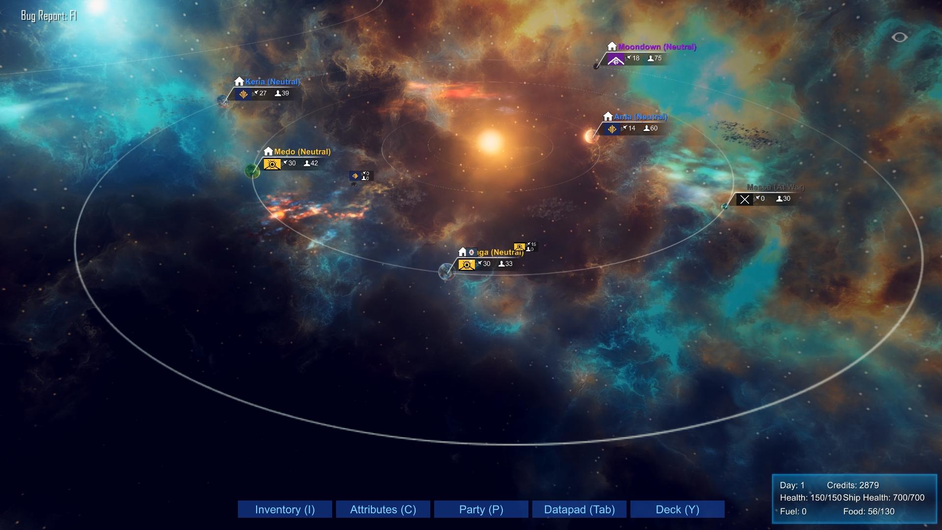 Freeman Star Edge - Starmap