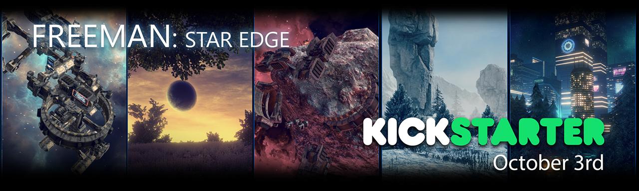 Freeman: Star Edge Kickstarter