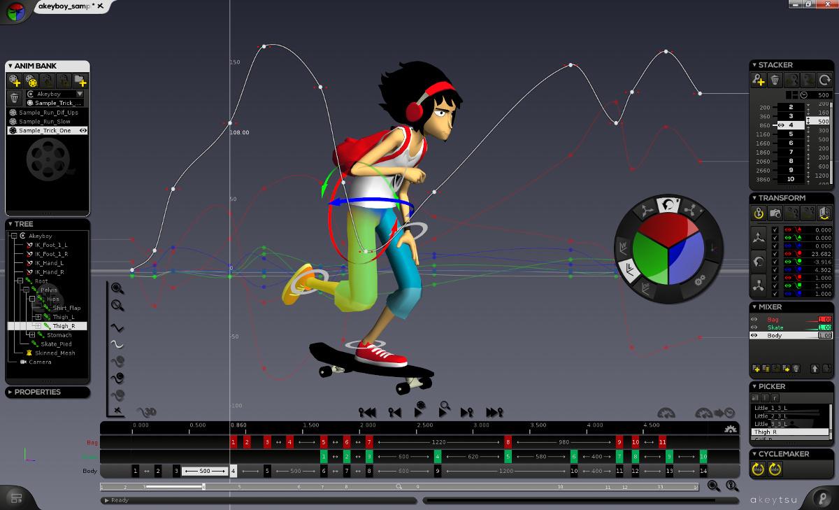 Akeytsu New 3d Animation Rigging Software On Steam