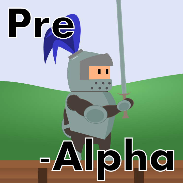 Announcement image for the pre-alpha