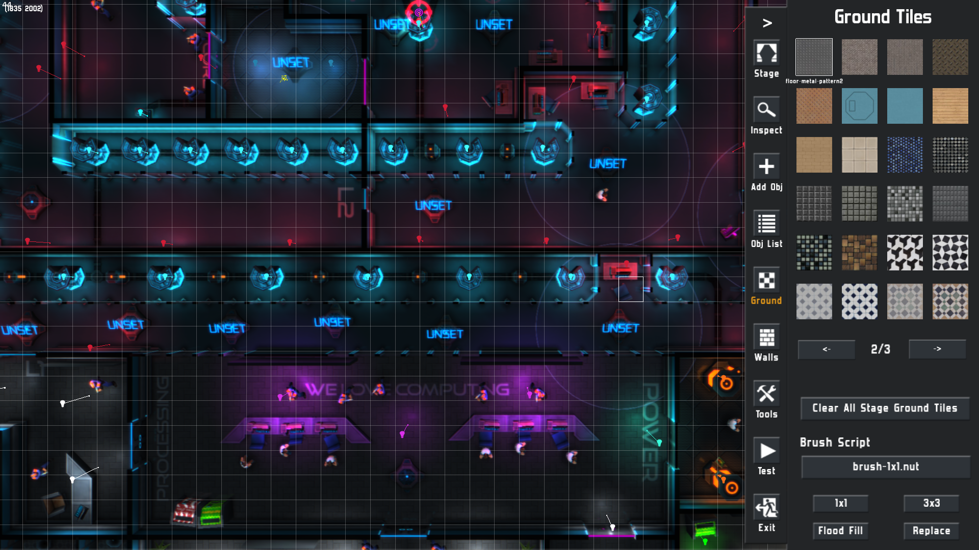 neonchrome level editor
