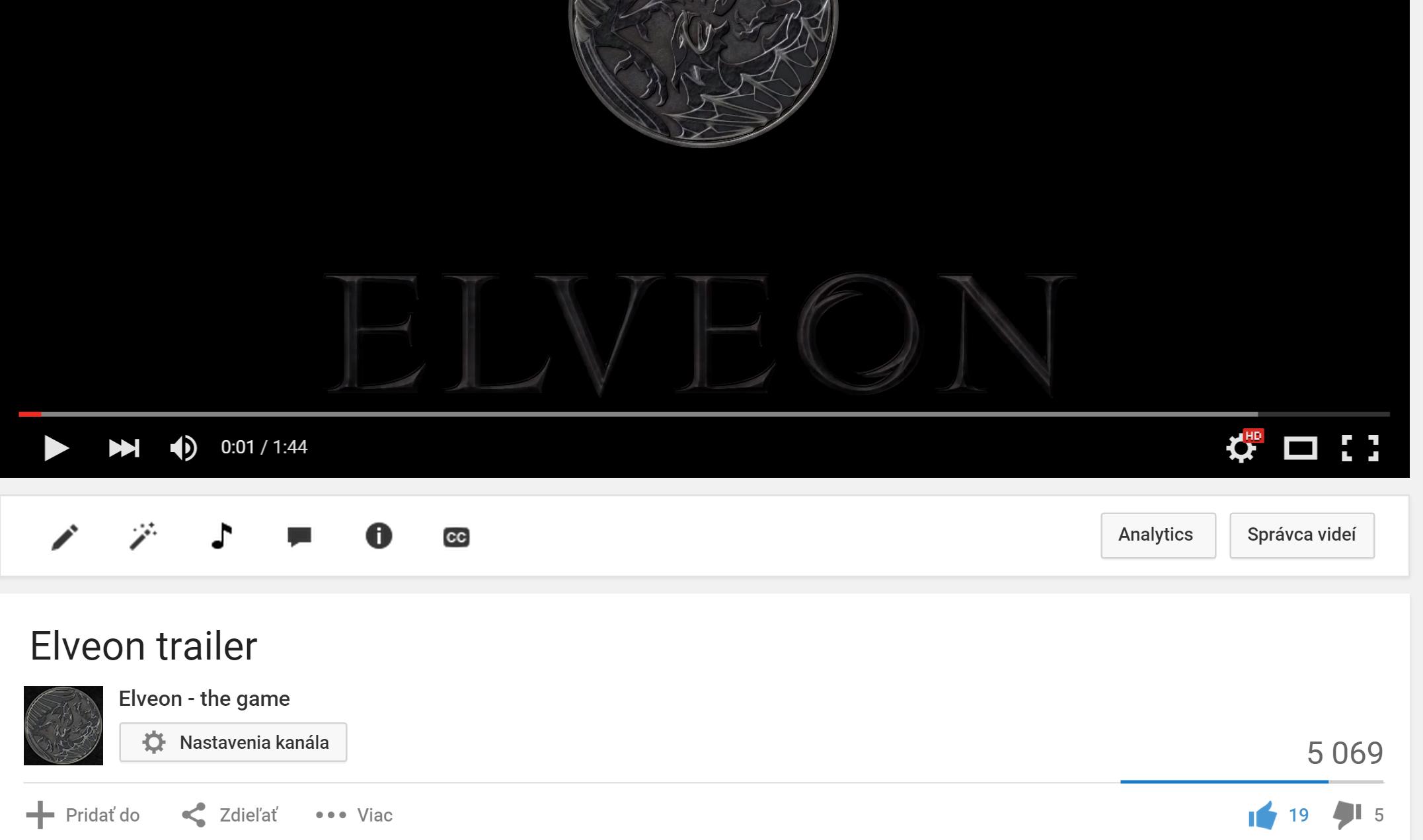 Elveon 5k plus