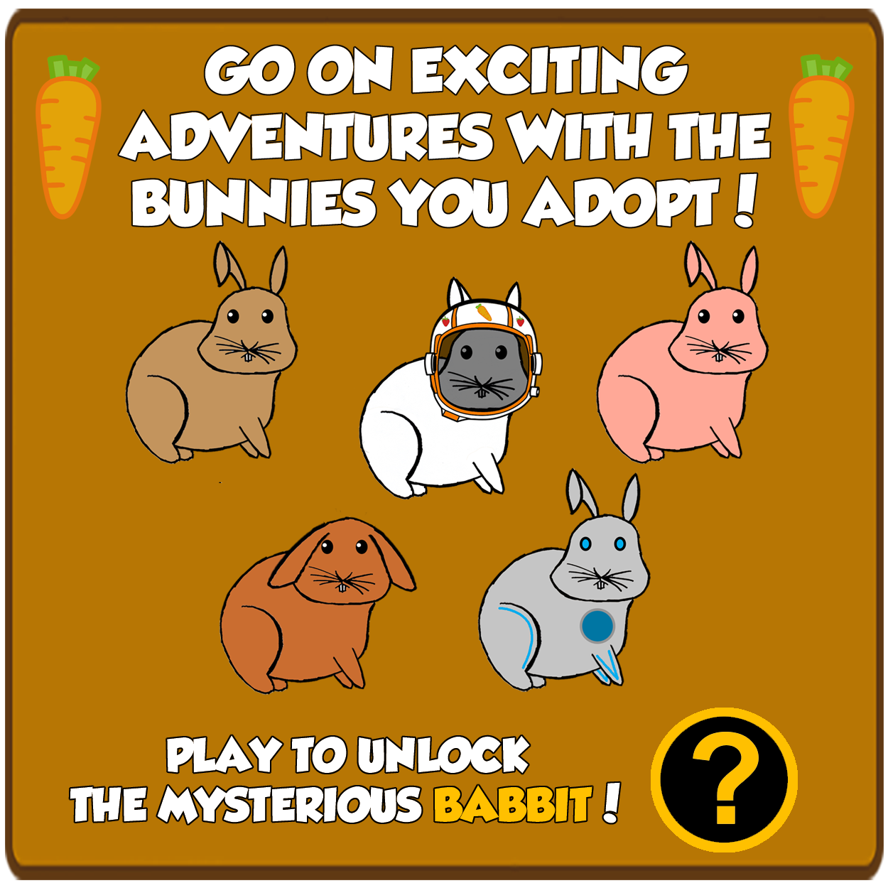 Bunnies for Adoption!