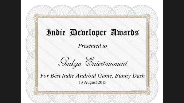 Indie Dev Award