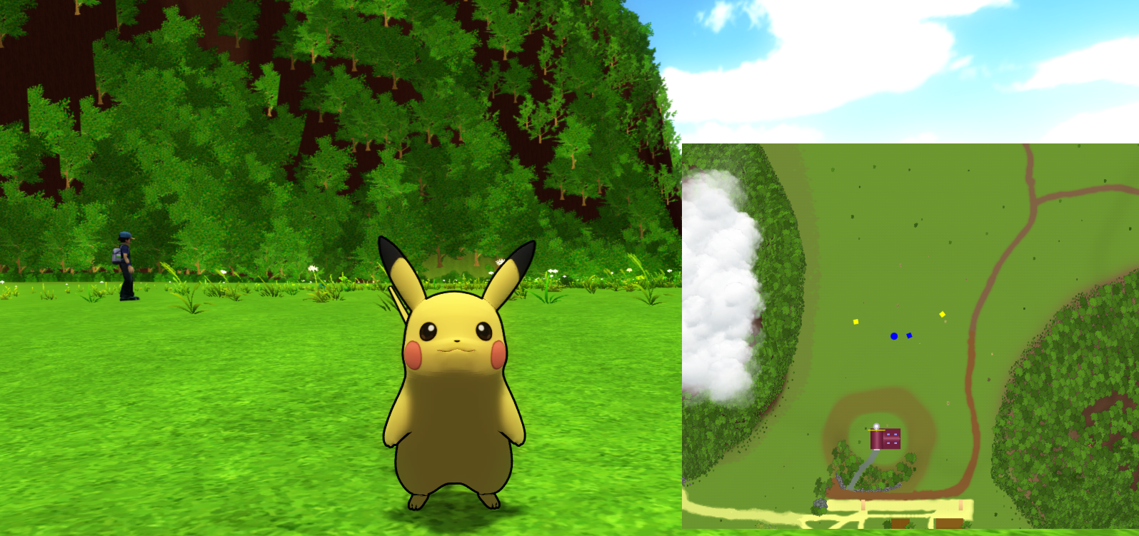 Release pokmon mmo 3d the pok community forums - Pokemon 3d download ...