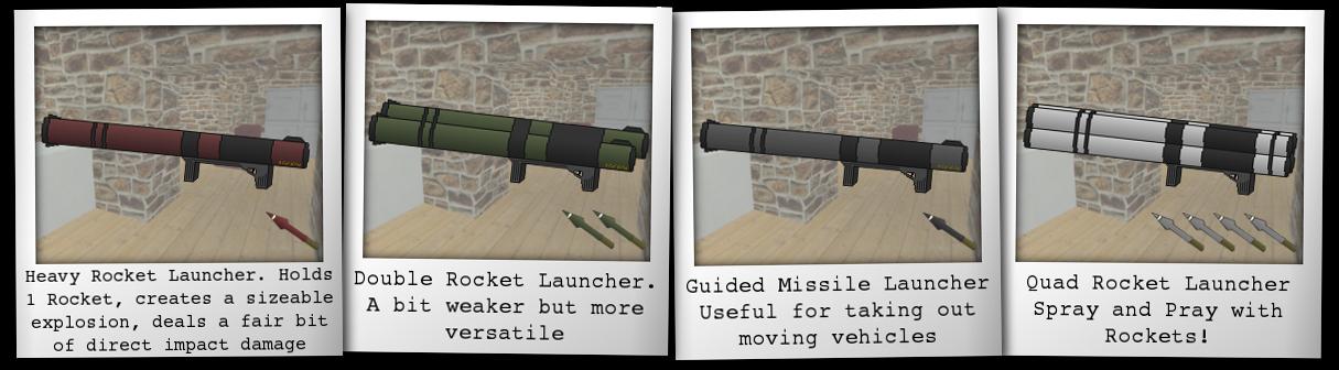 w1 rocket types