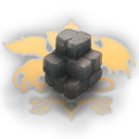Stone with Logo