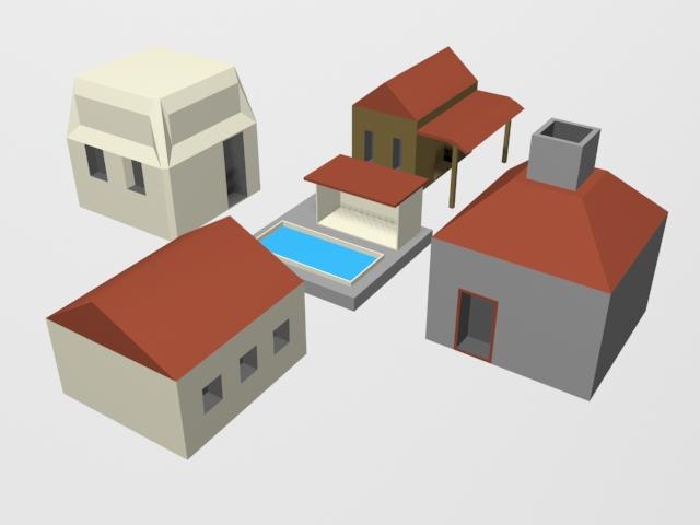 lowpolybuildings