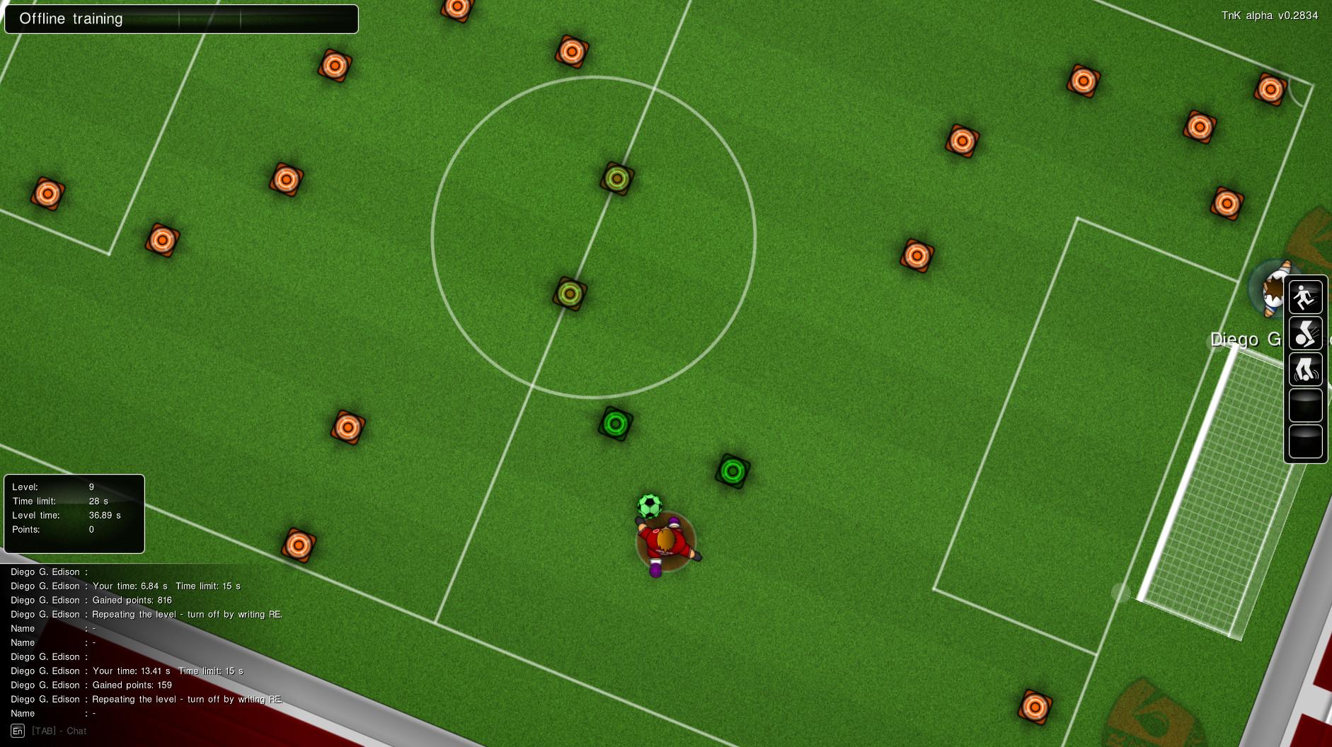 Training - ball control