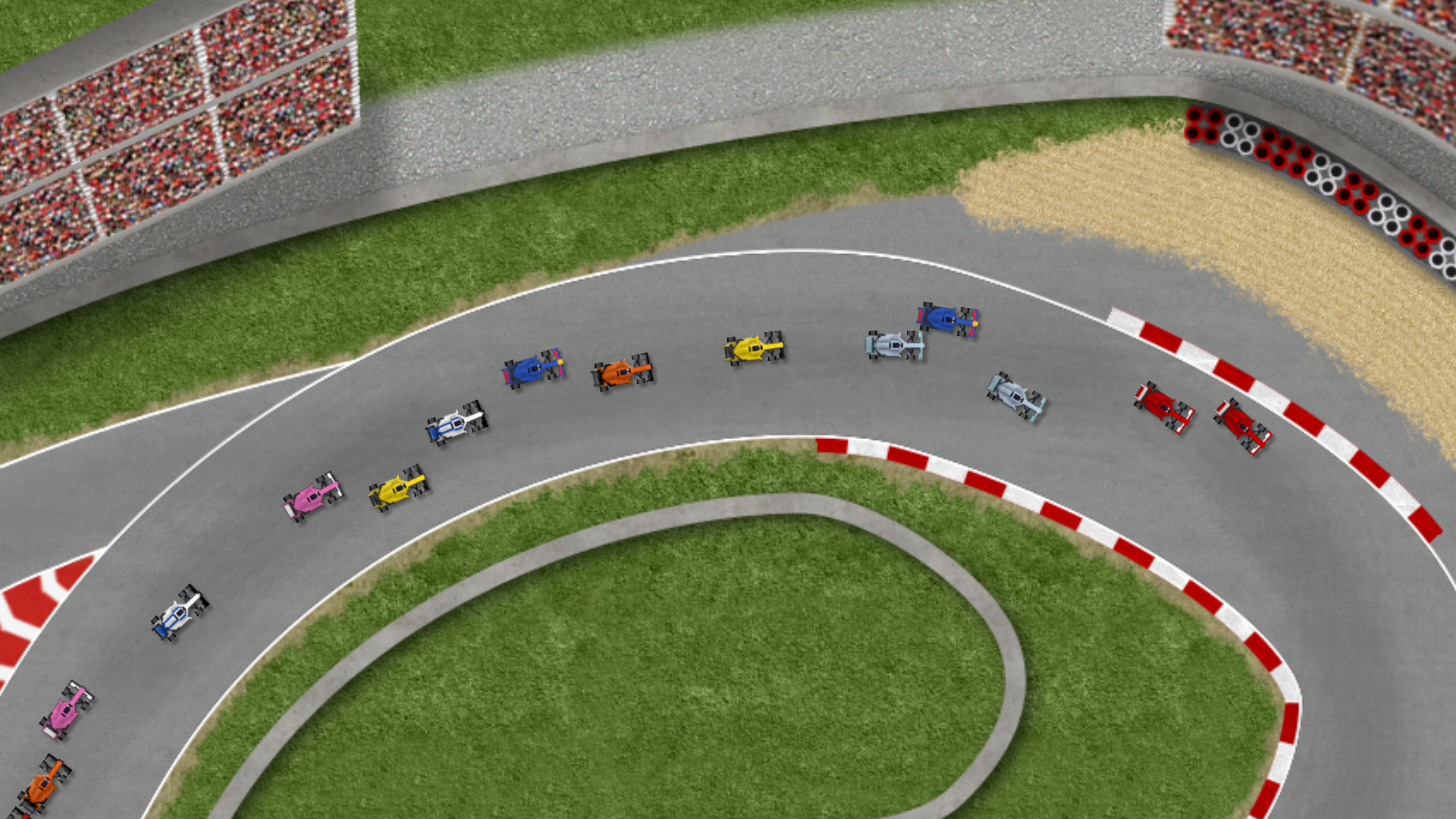 ultimate racing 2d screenshot 1