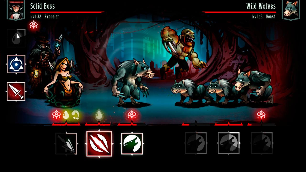 Evilibrium II Battle