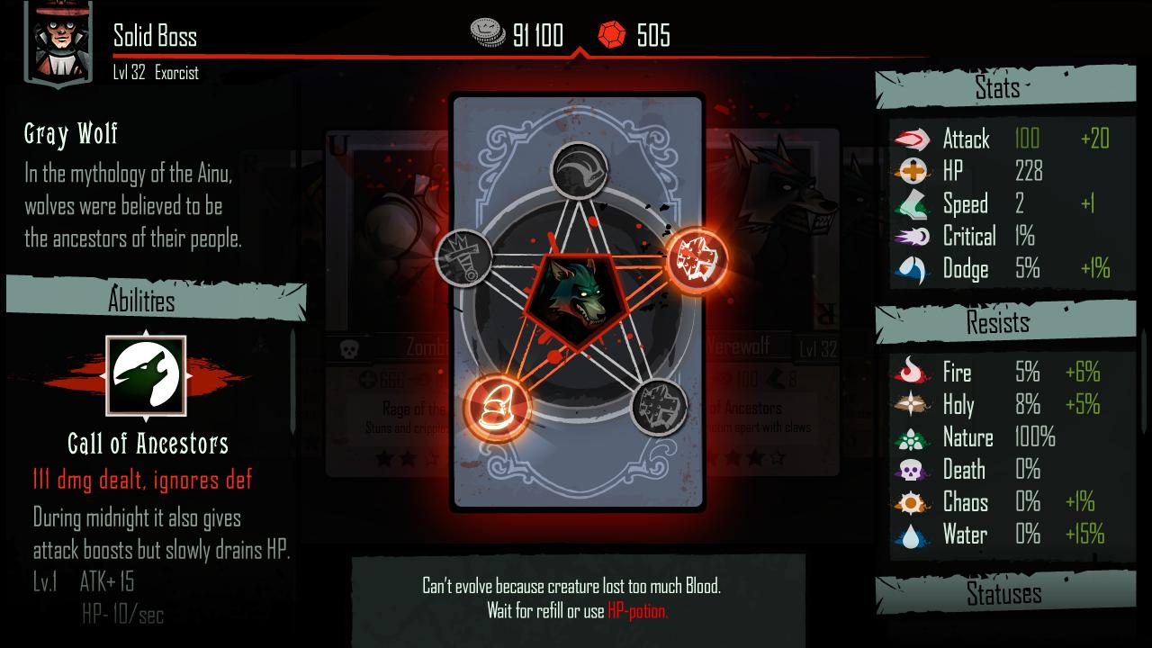 Evilibrium II Deck Evolve