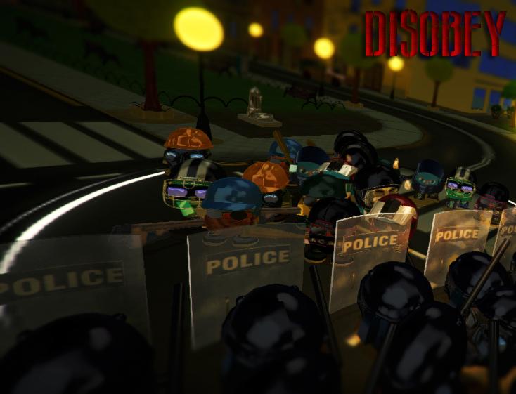 Disobey revolt simulator art4