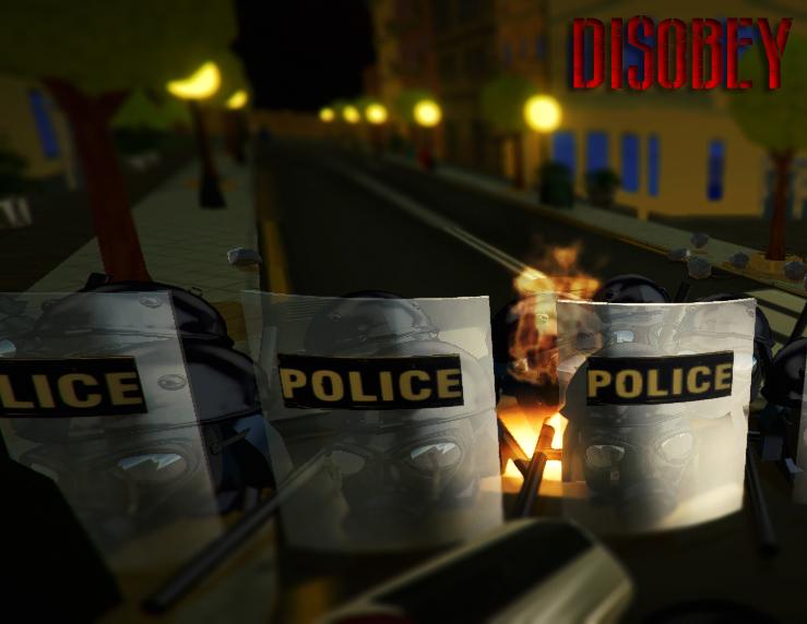 Disobey revolt simulator art5
