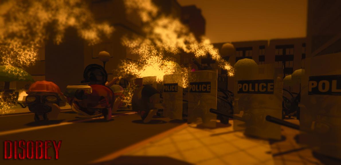 Disobey revolt simulator art6