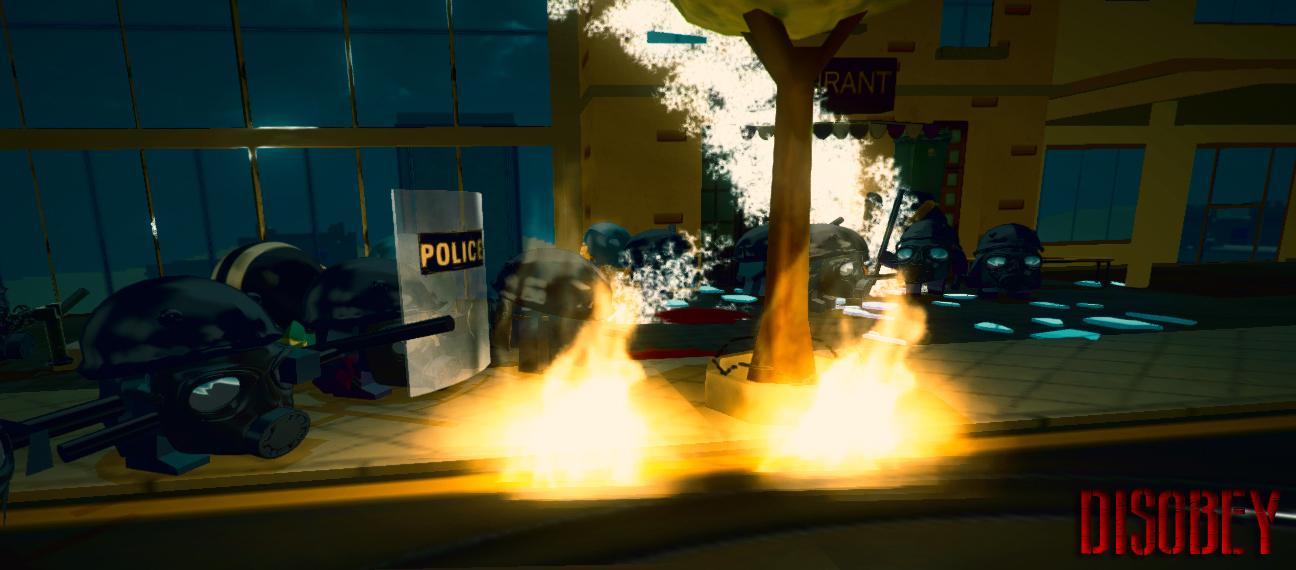 Disobey revolt simulator art8
