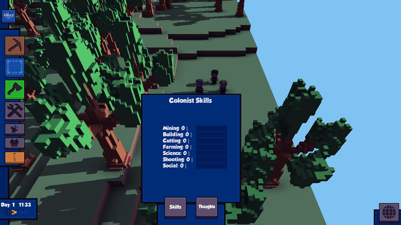 Colonist Skills