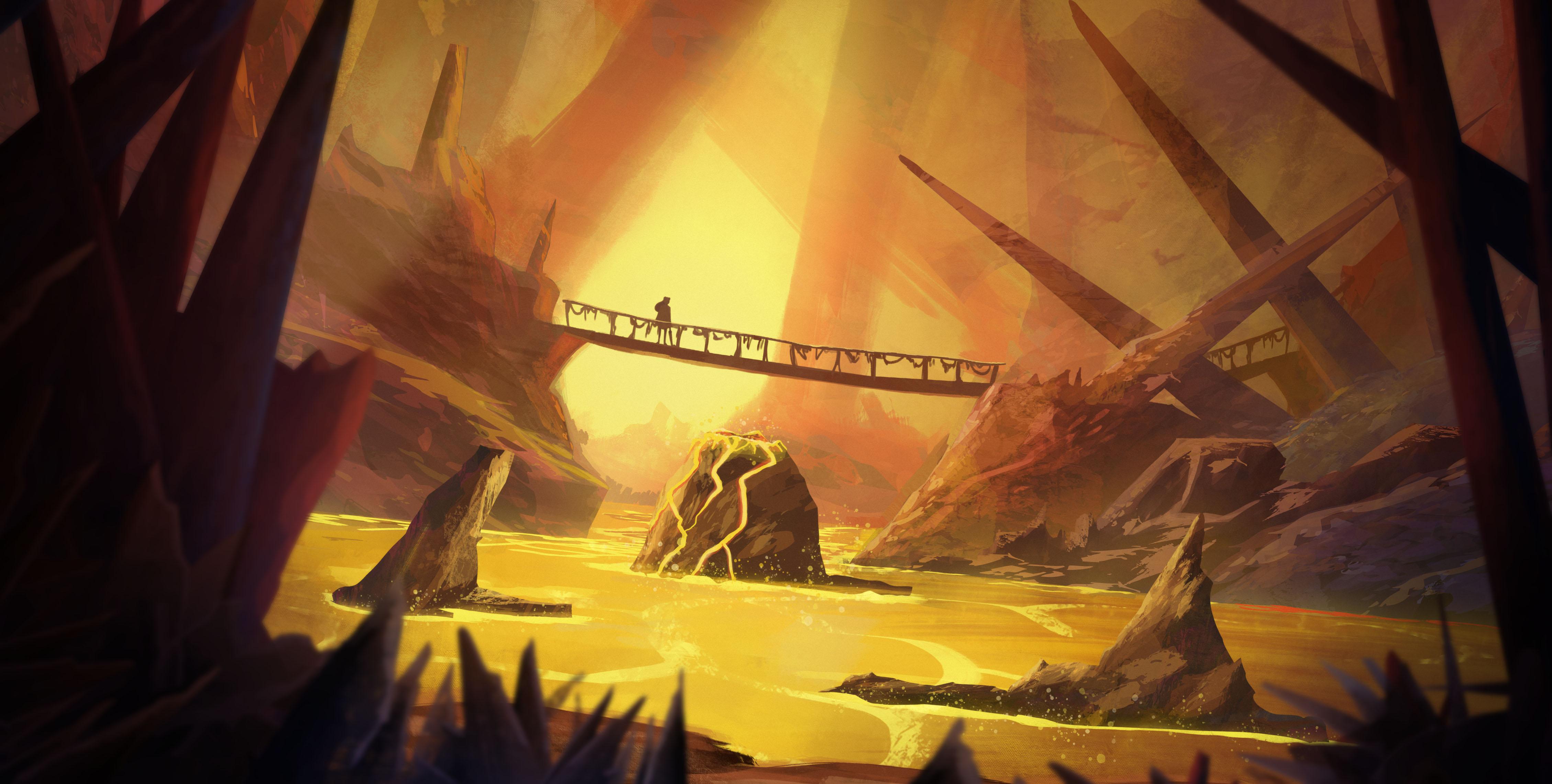 CONCEPT CaveOfDestiny Corridors 3