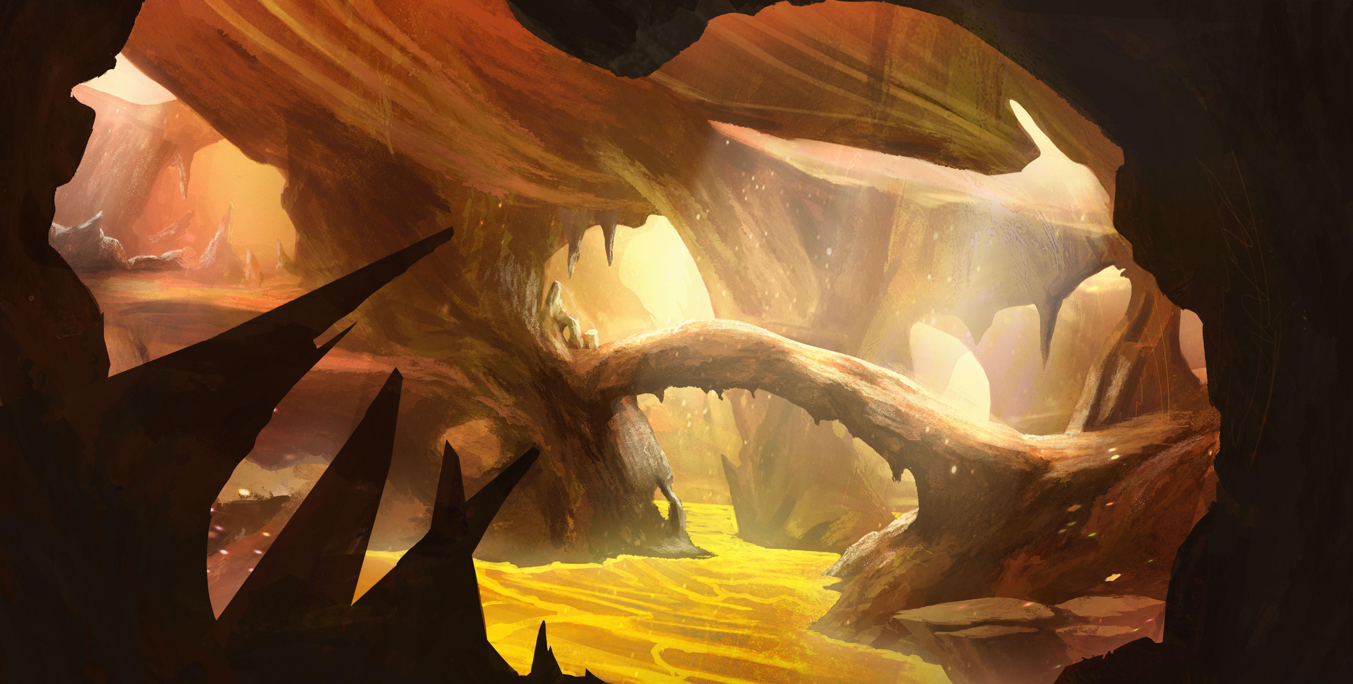 CONCEPT CaveOfDestiny Corridors 5
