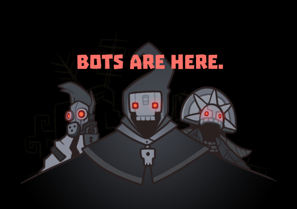 bots are here