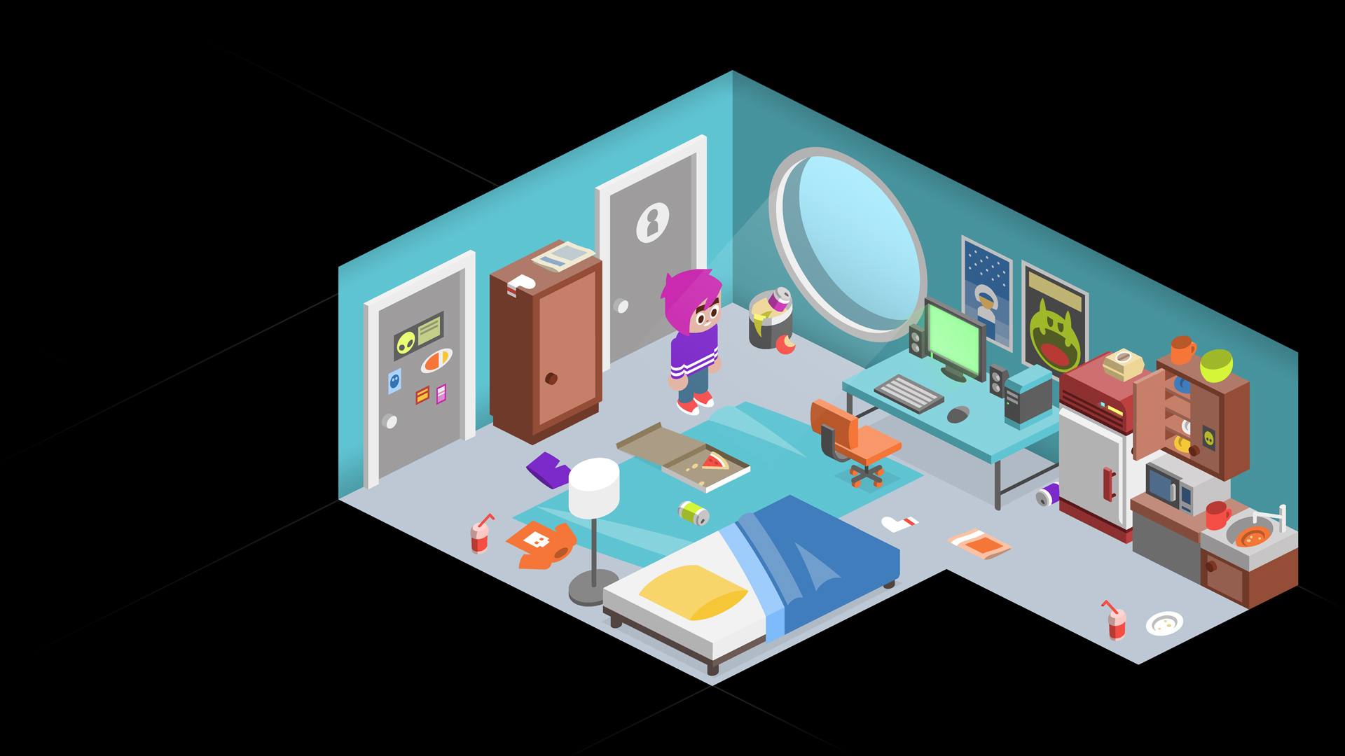 wip new room design