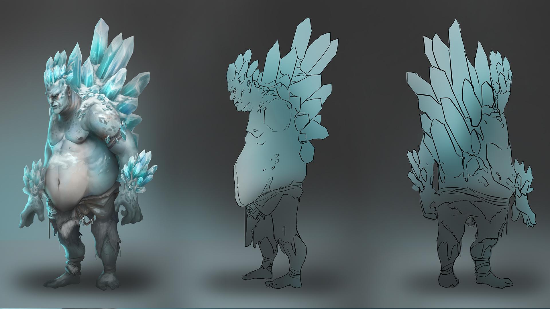 ConceptArt Giant Ice