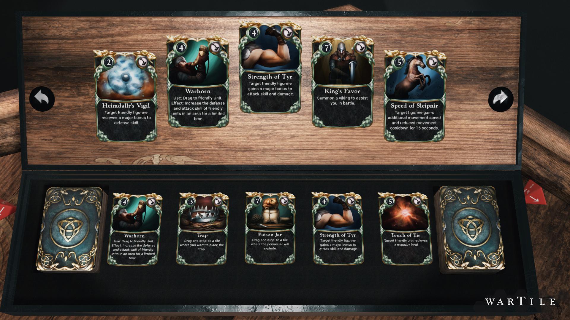 Ingame CardDeck 1