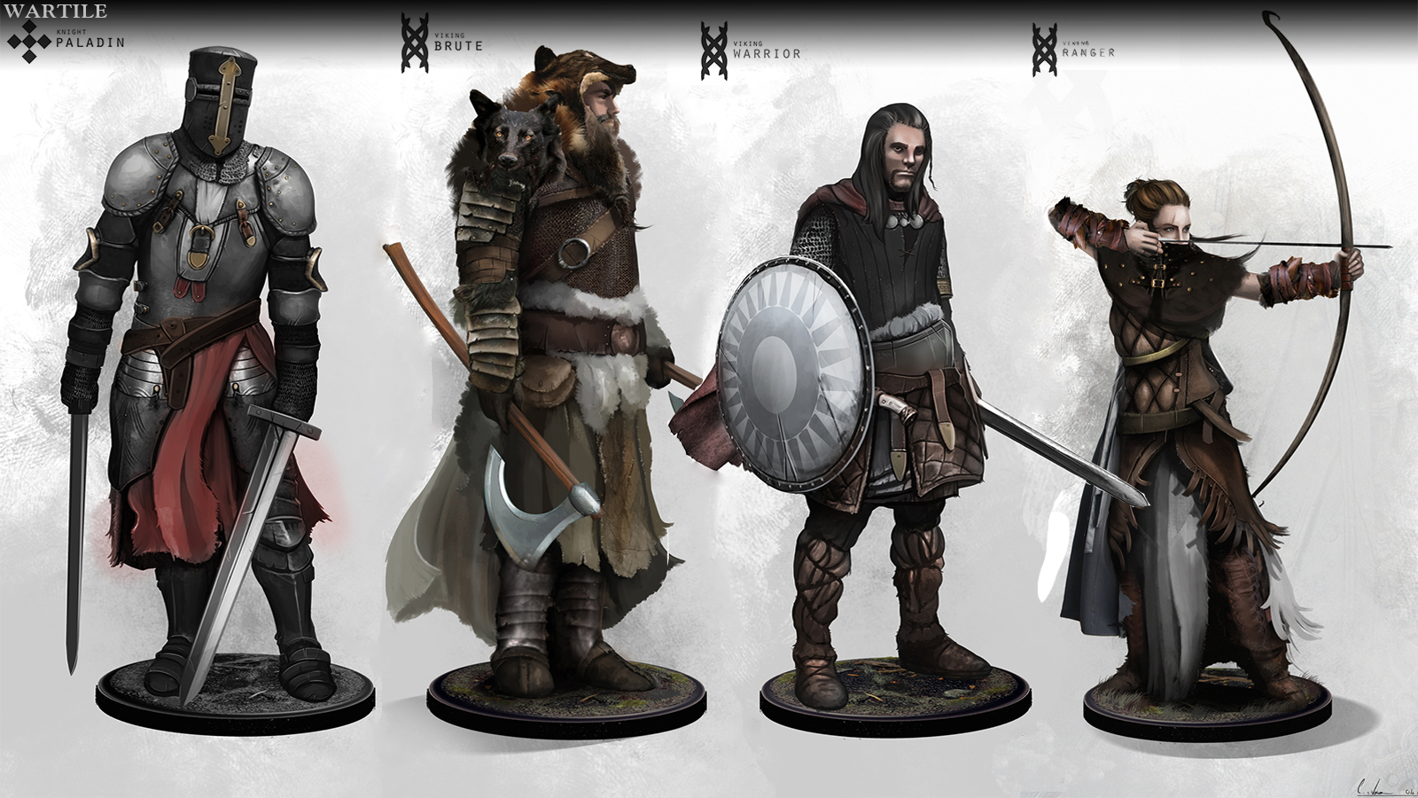 Wartile CharacterConcepts