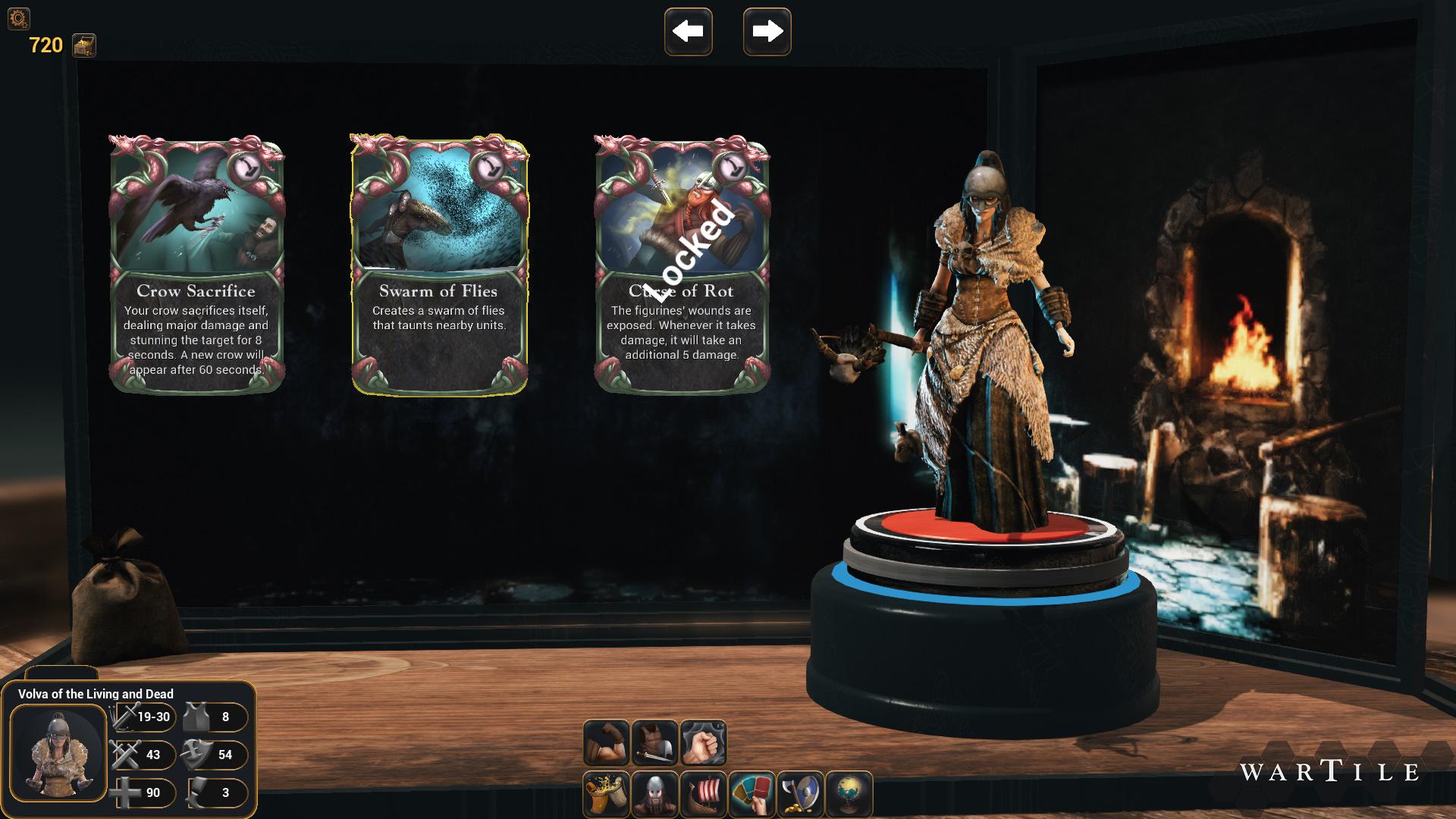 Wartile DarkForest VolvaAbilitie