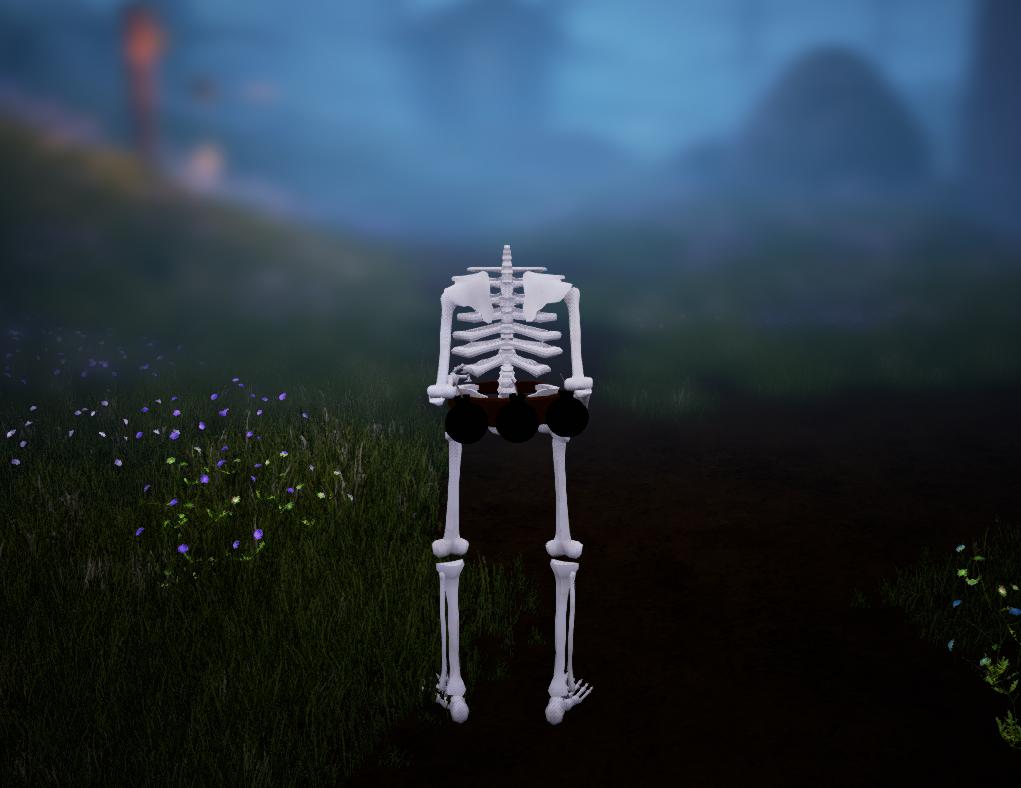 The Skeleton War - No Head Screen Blur