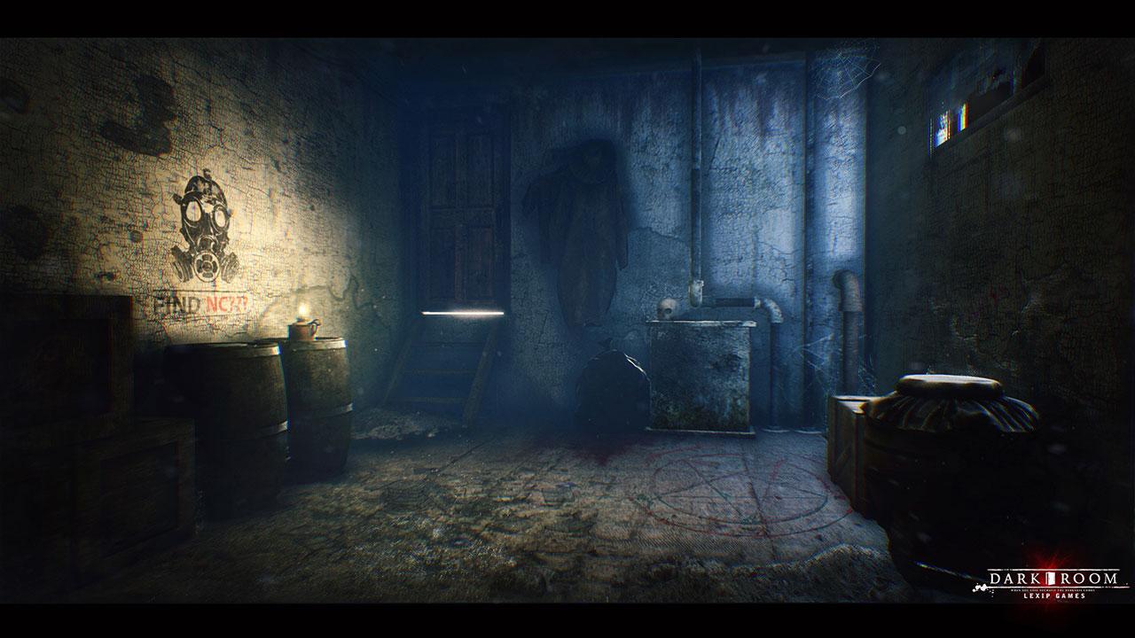 Dark Room Game Scene