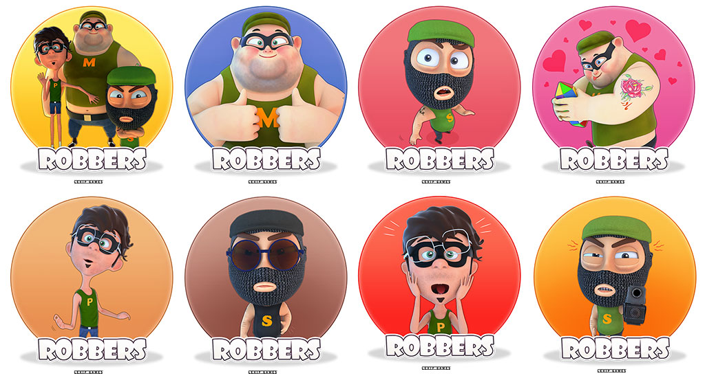 The Robbers Telegram Stickers