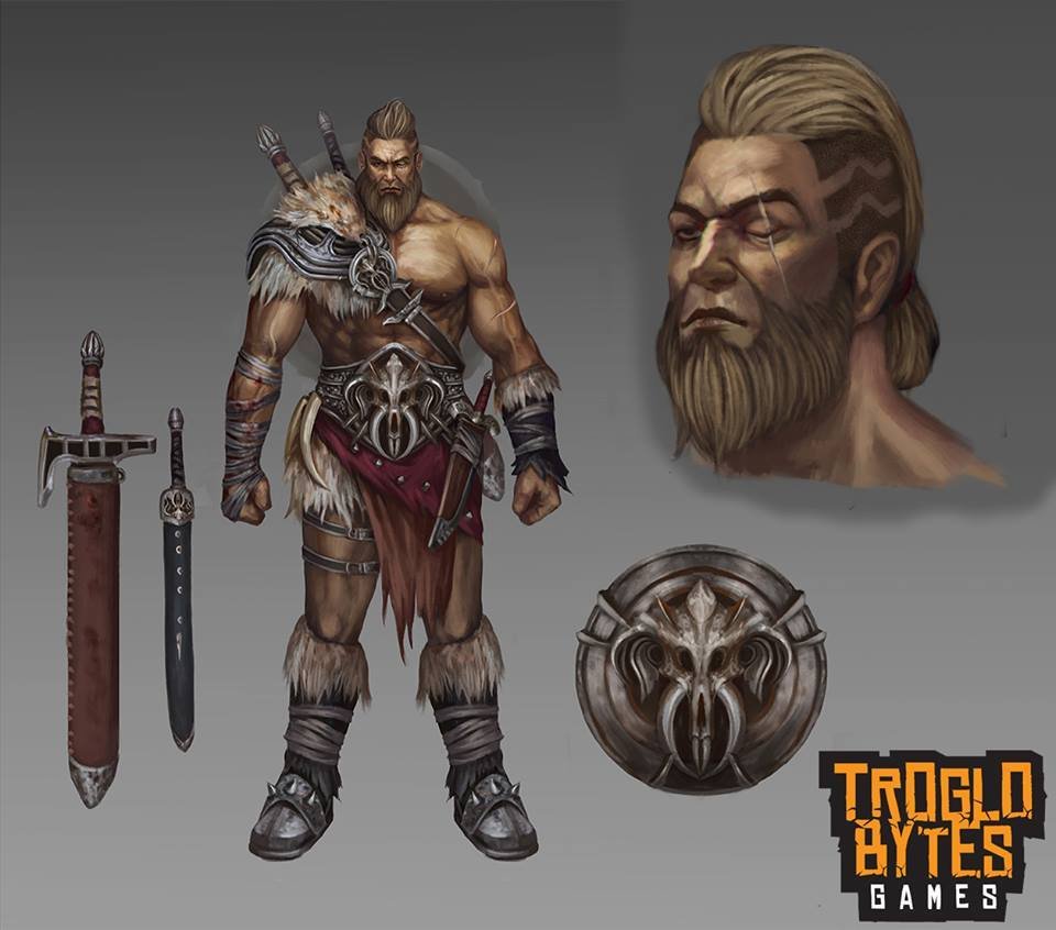 main male character concept