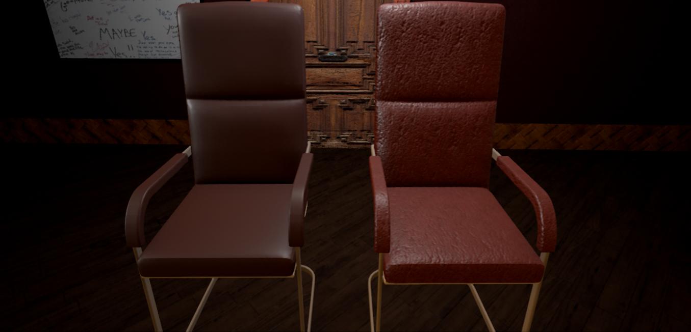 Chair Texture Comparison