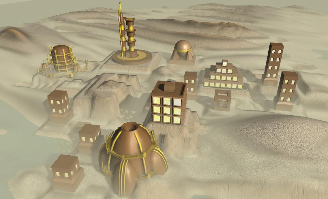 desert robotsb