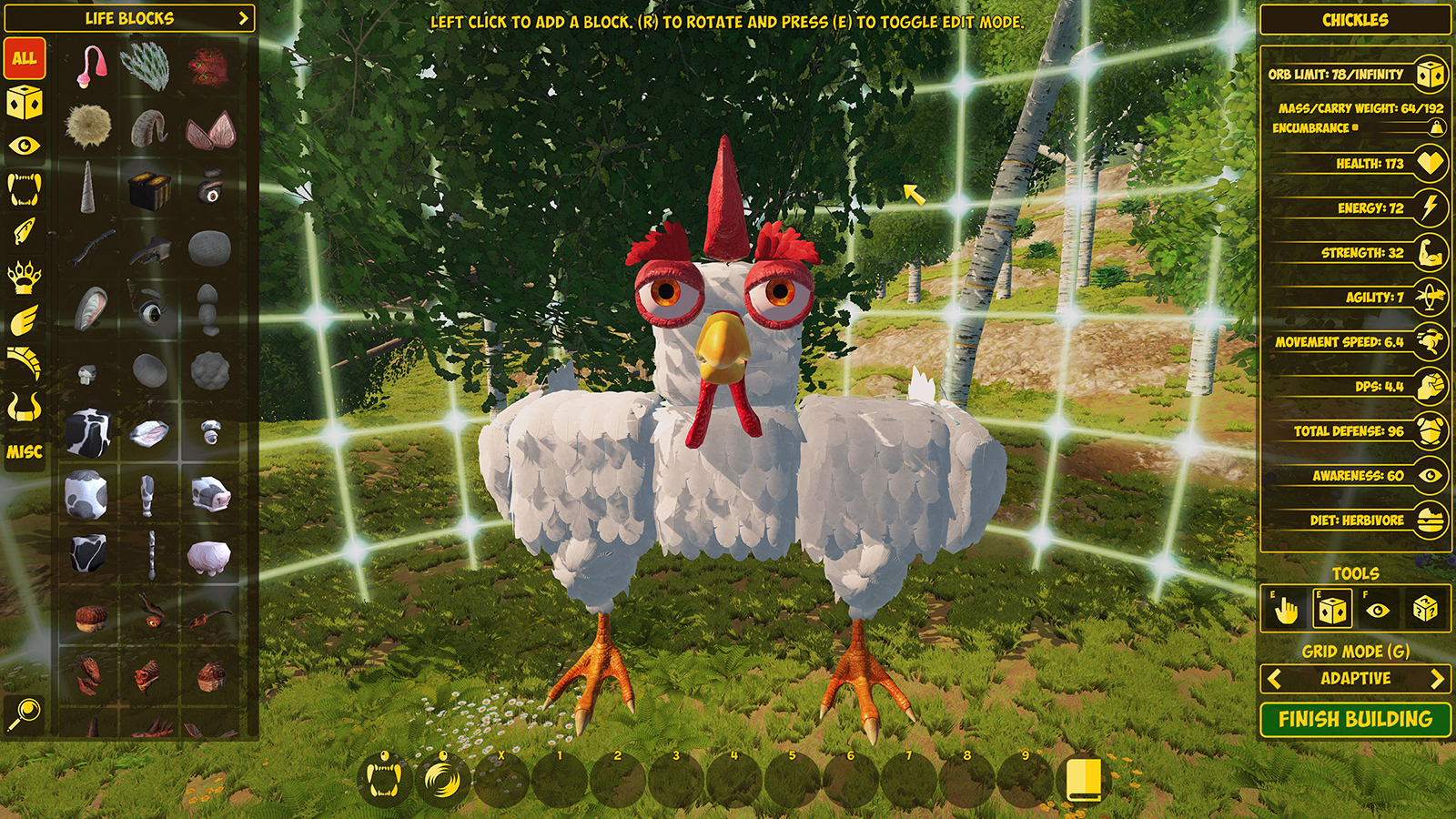 newcreaturebuilderchicken may201