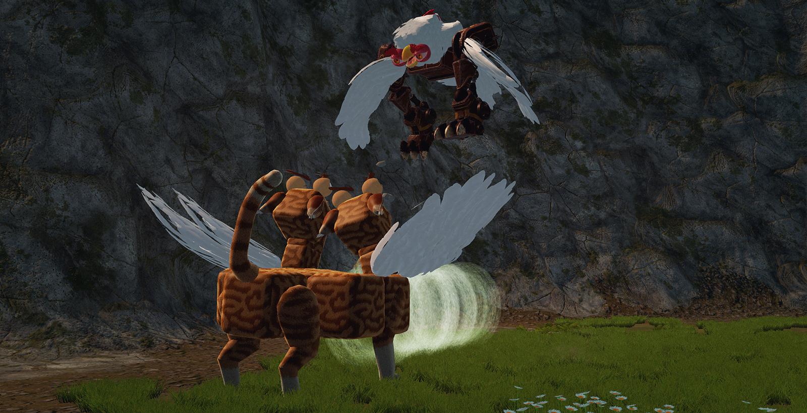 Wings are pretty darn useful.