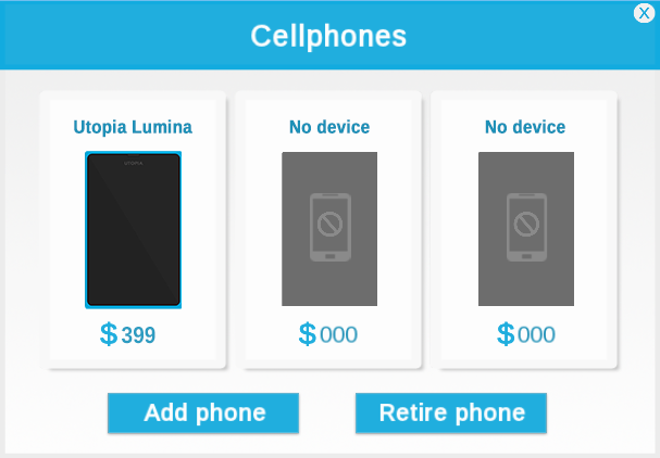 Cellphonesdisplay