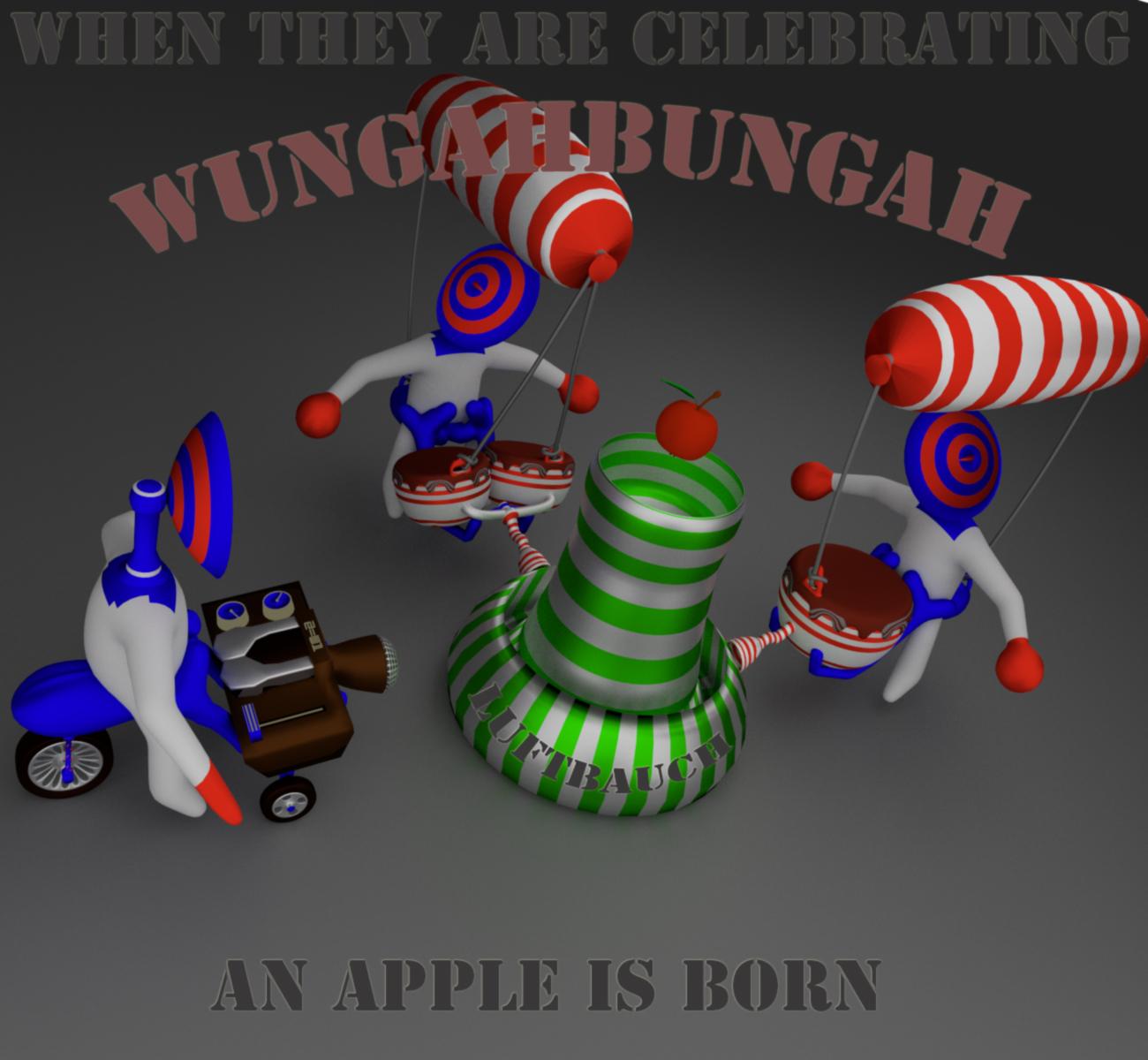 apple born by luftbauch d82o51c