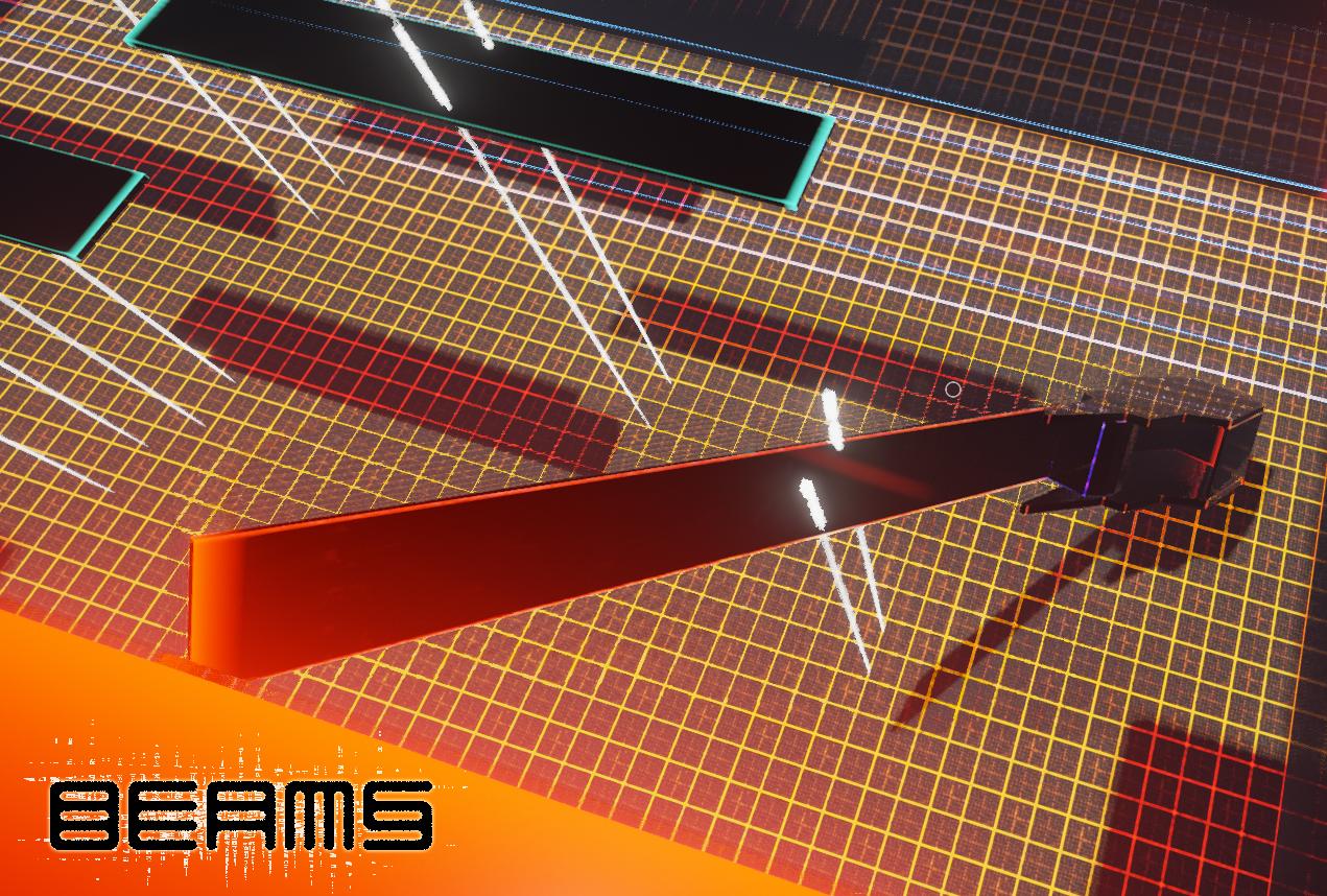 physic puzzles Beams ue4