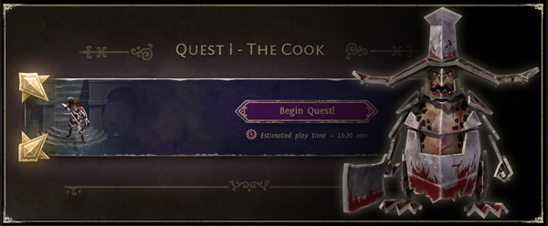 Speedrun to the Cook