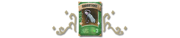 Book of Demons - Rabbit foot