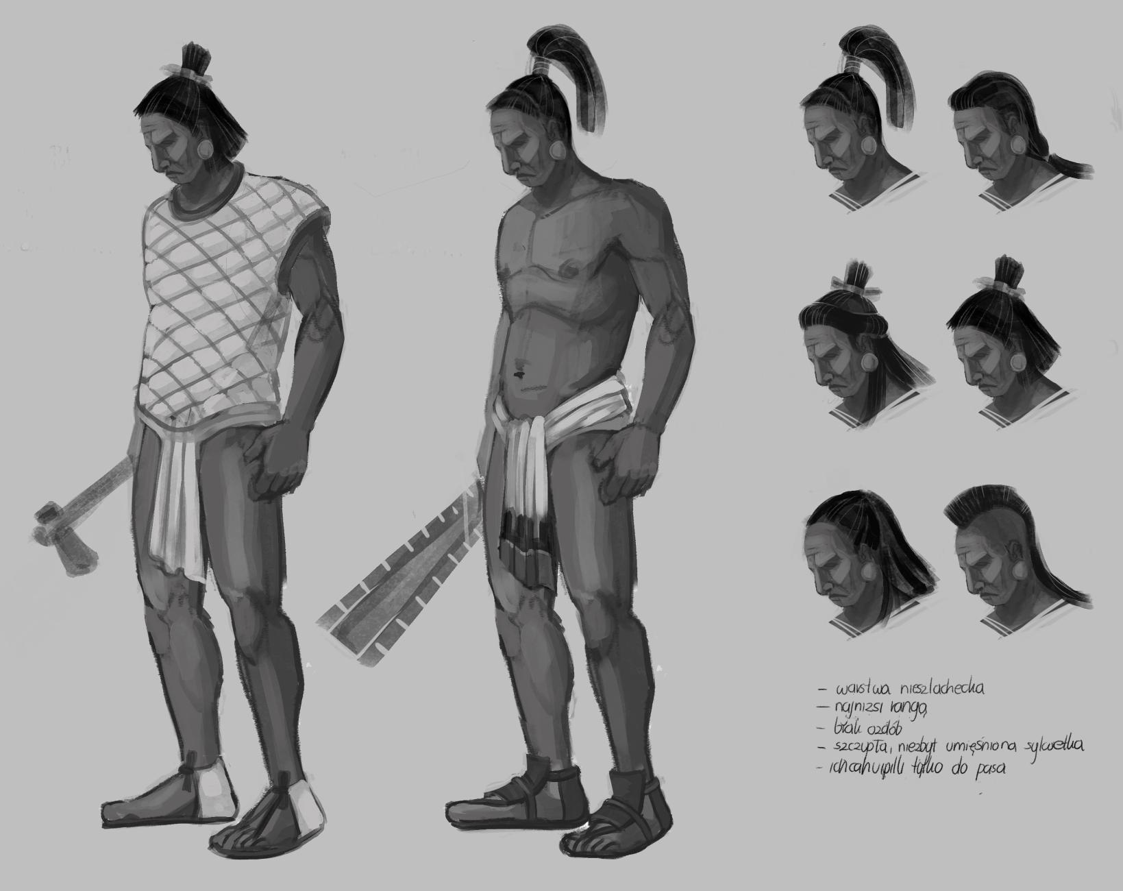 Aztecs' warriors concepts