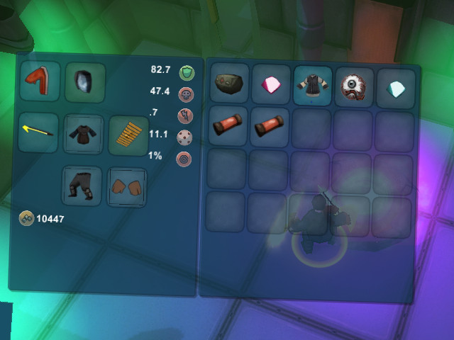 Inventory UI Window